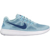 Nike Free RN 2017 Running Shoes Women ocean bliss/navy-glacier blue-noise aqua